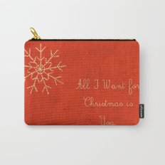 For Christmas! Carry-All Pouch