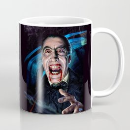 Christopher Lee Dracula Horror Movie Monsters Coffee Mug