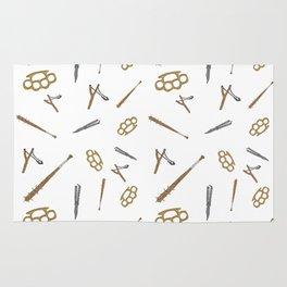 Play Dirty Pattern Rug