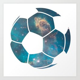 Space ball Art Print