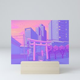 Roppongi Light Mini Art Print