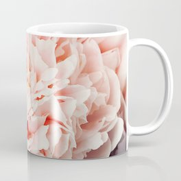 Peony Flower Photography, Pink Peony Floral Art Print Nursery Decor A Happy Life  - Peonies 1 Coffee Mug