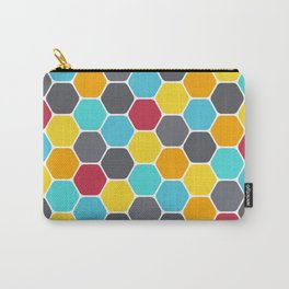 Honeycombs and colours Carry-All Pouch