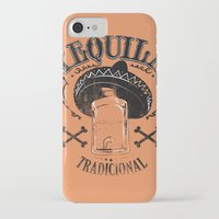 tequila iPhone & iPod Cases featuring Tequila Tradicional by Tshirt-Factory