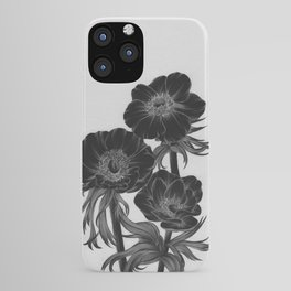 Gloomy Blooms IV iPhone Case