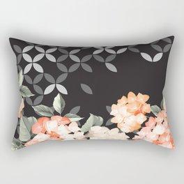 Explosion of mosaic between blooms Rectangular Pillow