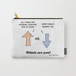 Working Out - Which Are You Carry-All Pouch