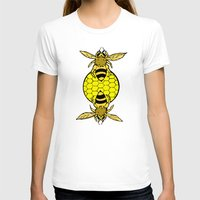 bees T-shirts featuring Bees by Chelsey Hamilton