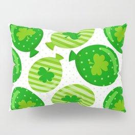 St Patrick's Day Shamrock Balloon Design Pillow Sham