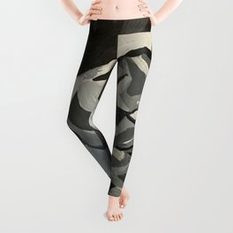 Girl in Mono Leggings