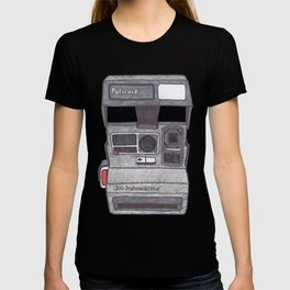 Instant Camera Drawing T-shirt