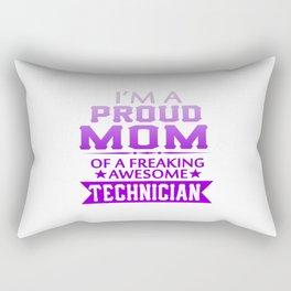 I'M A PROUD TECHNICIAN'S MOM Rectangular Pillow