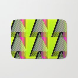 Totally Neon 80s Print Series 1 Bath Mat