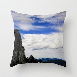 Cliff Throw Pillow