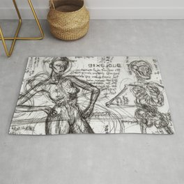 Clone Death - Intaglio / Printmaking Rug