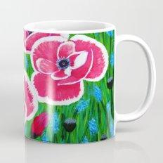 Pink Poppies Mug