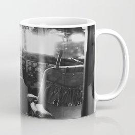 Vintage Airplane Cockpit Coffee Mug