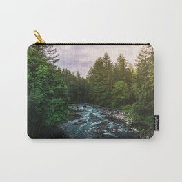 PNW River Run II - Pacific Northwest Nature Photography Carry-All Pouch