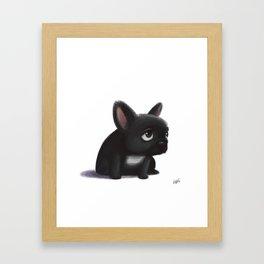 Little dog Framed Art Print