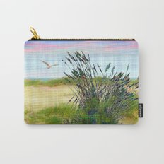 Plaid Beachscape with Seagrass Carry-All Pouch