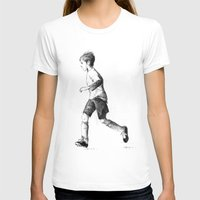 soccer T-shirts featuring Soccer sketch by Pato