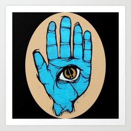 third eye Art Print