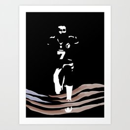 This Matters - Colin Kaepernick Black Lives Matter Protest of Injustice in America Art Print
