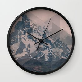 Perito Moreno COL Scattered Landscapes Wall Clock