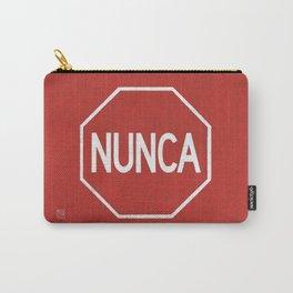 NUNCA PARA Carry-All Pouch