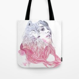 A Wolf in Girls Clothings Tote Bag