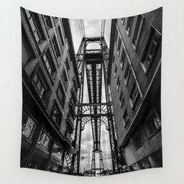 Portugalete suspension bridge Wall Tapestry