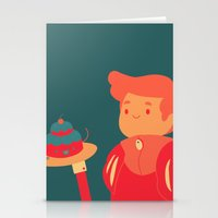 baking Stationery Cards featuring Baking by nico_lle