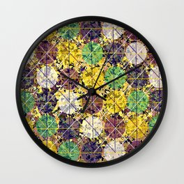 Pattern circles joined Wall Clock