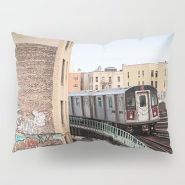 Incoming 2 Train Pillow Sham