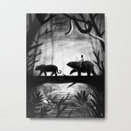 Jungle Book Cover Metal Print