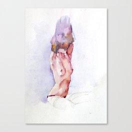 Naked 1 Canvas Print