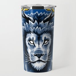 Deer Lion Travel Mug