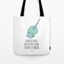 Narwhal love Tote Bag