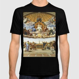 The Disputation of the Holy Sacrament - Raphael T-shirt