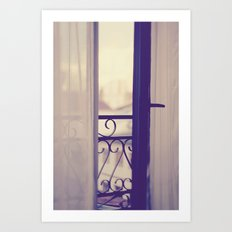 Paris Boudoir  Art Print