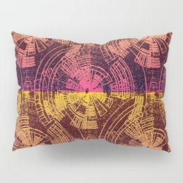 Contours Line Map Pillow Sham