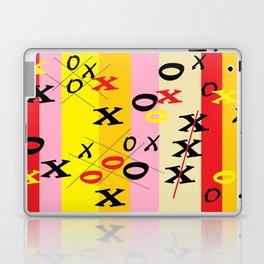 X's and O's Laptop & iPad Skin