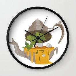 Mint Tea Wall Clock