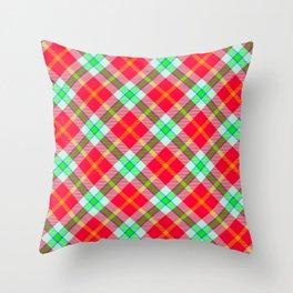 Scottish tartan #30 Throw Pillow