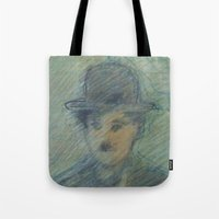 charlie Tote Bags featuring Charlie by SliackyJo