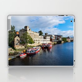 York City Guildhall and river Ouse Laptop & iPad Skin