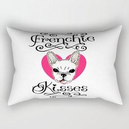 Frenchie Kisses Rectangular Pillow