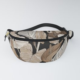 Lush lily - russet Fanny Pack