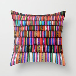 Sol Fabric Throw Pillow