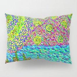 Swirlscape rework Pillow Sham